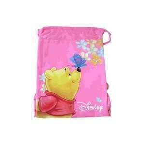 Disney Pooh & Tigger String Backpack Bag Toys & Games