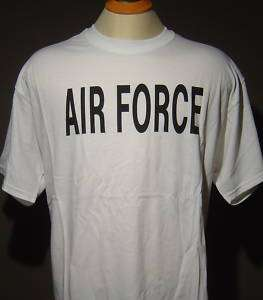 US AIR FORCE T SHIRT GRAY ROYAL NAVY BLUE WHITE BLACK