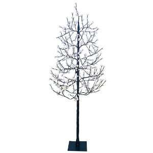 Lighted Cherry Blossom Flower Tree   Cool White Lights