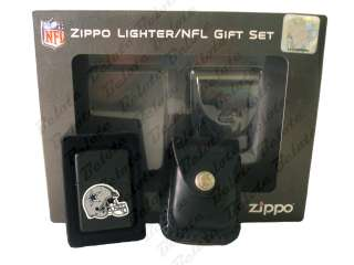 Zippo NFL Dallas Cowboys Lighter & Pouch Gift Set 24659
