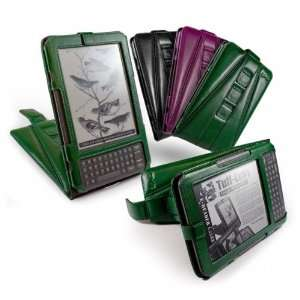 Tuff Luv Tri Axis Leather Case Cover For  Kindle