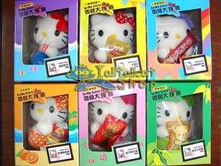 2011 Sanrio X Okashi Land Hello Kitty (Set of 6)