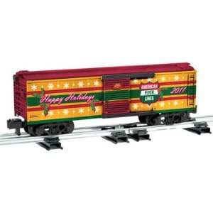 Lionel S Scale American Flyer Boxcar Holiday 2011 Toys