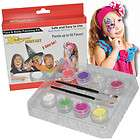 Princess FACE PAINT PAINTING KIT Kids Makeup Set   Kustom Body Art