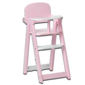 My Twinn Baby Doll Wooden High Chair: Toys & Games