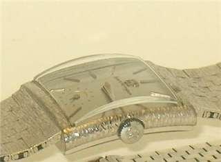 SHARP MENS SOLID 18K WHITE GOLD GIRARD PERREGAUX SWISS