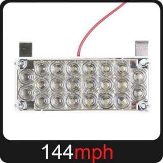 4x 22 LED Car White Flash Strobe Light + Controller Box