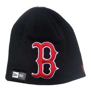 Boston Red Sox Big Logo Beanie Cap Hat by New Era