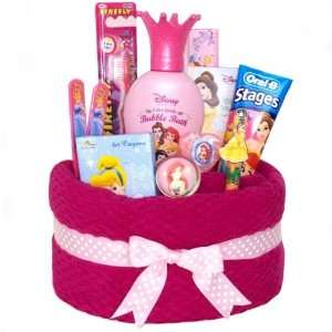 Pink Princess Bath Towel Cake for Girls   Dental Care, Bath Products