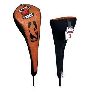 Miami Heat NBA Pebble Grain Golf Driver Headcover Sports