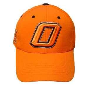 NCAA OKLAHOMA STATE COWBOYS ORANGE HAT CAP VELCRO WOOL