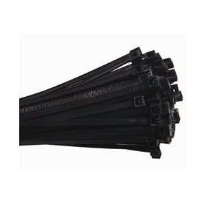 UV Mil Spec Cable Tie, 14 50lbs 100pk Black