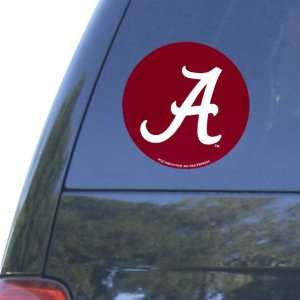 Alabama Crimson Tide Round Decal