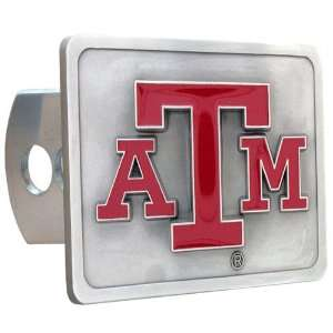 BSS   Texas A & M Aggies NCAA Logo Hitch Cover