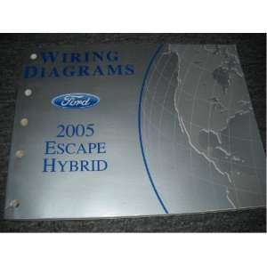 2005 Ford Escape Hybrid Mariner Hybrid Wiring Manual ford Books