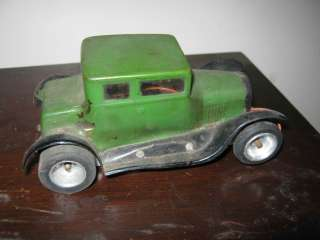 Vintage Slot Car w/Vacuum Formed Body Unknown Maker 1/24 1/32 Cox