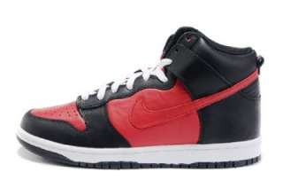 NIKE DUNK HIGH MENs BLACK / VARSITY RED BRAND NEW IN BOX SELECT YOUR
