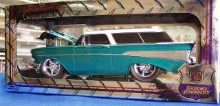 18 scale M2 Machines 1957 Chevy Nomad very limied release   urquoise