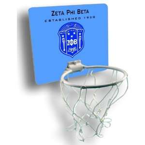 Zeta Phi Beta Mini Basektball Hoop: Everything Else