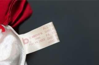 Brinns Red & White Hearts Valentine Clown Doll 1986