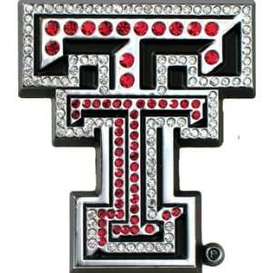 Texas Tech Red Raiders Premium Chrome Metal Auto Emblem