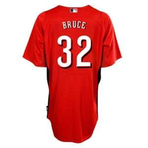 Cincinnati Reds Authentic Jay Bruce Cool Base BP Jersey