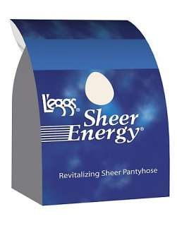 eggs Sheer Energy Control Top, Sheer Toe Pantyhose 6 Pack   style