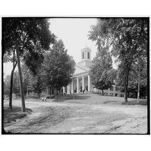 College Hall,Amherst,Mass.