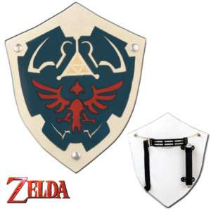 Zelda Hylian Wooden Shield   Great for cosplay Great Xmas Gift Zelda