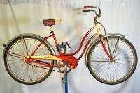 Schwinn Starlet Ladies Bicycle middleweight bike womens cruiser red