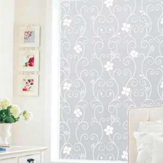 36 X 5 7 9 16 Privacy Decorative Frosted Glass Window Film White