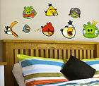 ANGRY BIRDS wall stickers 36 big decals room decor scrapbooking self