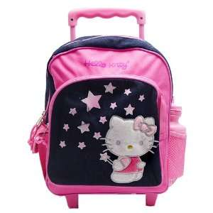 Hello Kitty Stars Rolling Large Backpack, Hello Kitty Lunch Bag