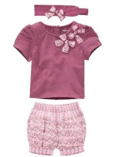 Baby Short Top+ Pants+Headband Cotton 0 36M Costume Clothing B02 HOT