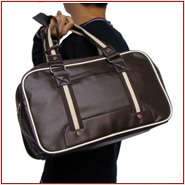 14 Mens Genuine Leather Laptop Notebook Carrying Shoulder Briefcase