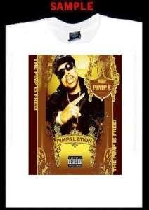 PIMP C CUSTOM T SHIRT TEE bun b ugk rap hip hop 392