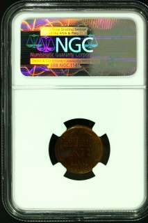 1909 S VDB 1¢ Lincoln Penny NGC UNC Details
