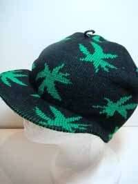 MARIJUANA,POT,420,SKATE,BEANIE,KNIT,SKULLY ,HAT,CAP