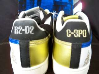 Adidas Star Wars Top Ten Low DROID Shoes C3PO R2D2