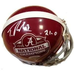 Trent Richardson Autographed/Hand Signed Alabama Crimson Tide National