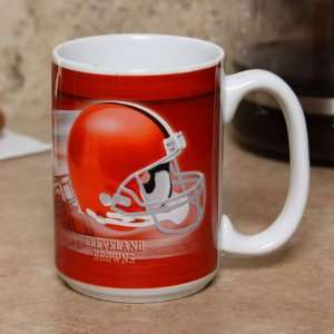 Cleveland Browns Helmet Design Coffee Mug Sports & Outdoors