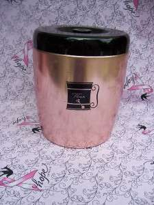 Canister Set 4 Flour Sugar Coffee Tea Metal WEST BEND |