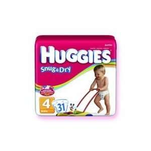 Package Of 23 Huggies Snug & Dry Disposable Diapers   Case