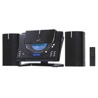 SUPERSONIC MICRO HOME STEREO SYSTEM FM RADIO  CD PLAYER WALL