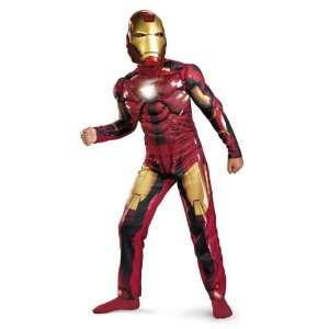 Iron Man Mark VI Deluxe Light Up Child Boy Toys & Games
