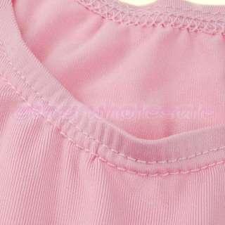 Girls Princess Ballet Dance GYM Leotard Dress SZ 4 5Y