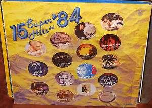 Van Halen Chicago Madonna 15 Super Hits Del 84 Lp