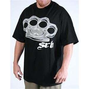 SRH Knuckle Up T Shirt   Large/Black Automotive