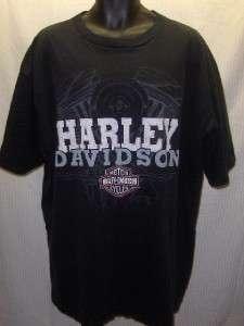 Pierce HARLEY DAVIDSON Dekalb Illinois T Shirt 4XL