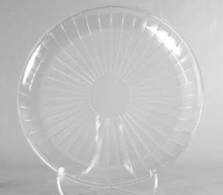 Plastic Serving Tray, Clear 18 Round 7685